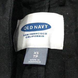 Old navy black blazer size xs long sleeve w pocket